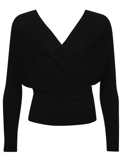 Teen wrap front jumper