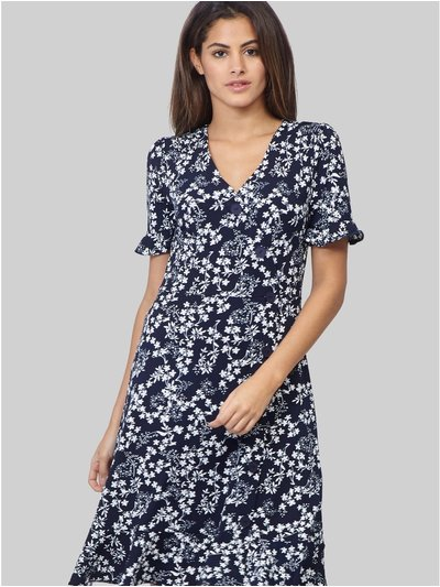 Izabel floral knee length dress