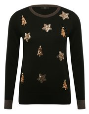 Sequin Christmas jumper