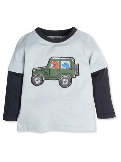 Dino truck t-shirt (9mths-5yrs)