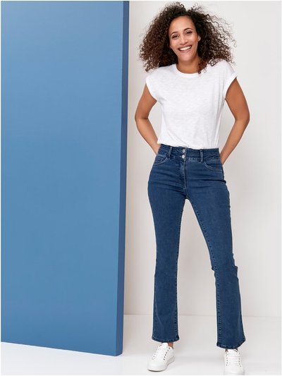 Lift and shape bootcut jeans