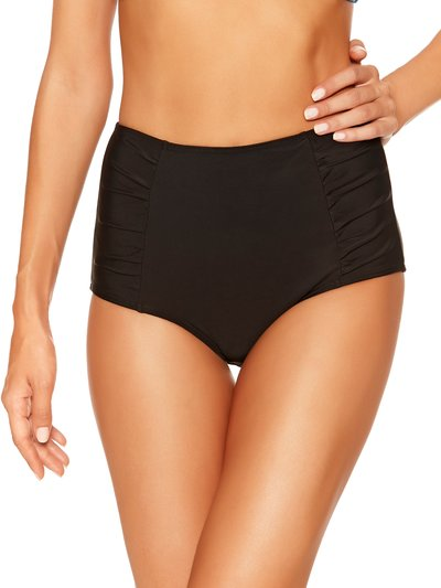 High waisted tummy control bikini bottoms