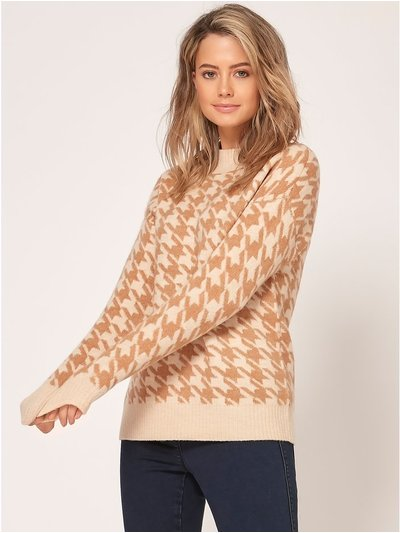 Petite dogtooth jumper