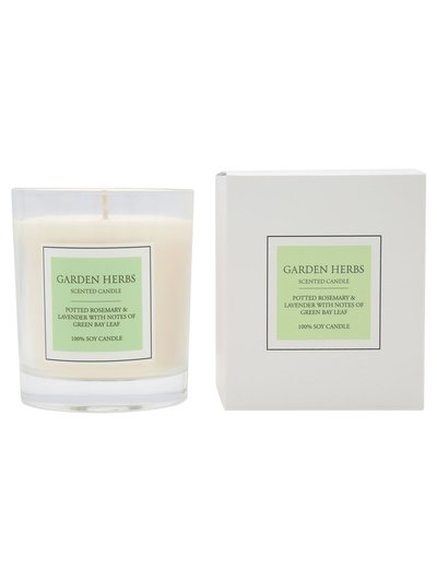 Garden Herb scented candle
