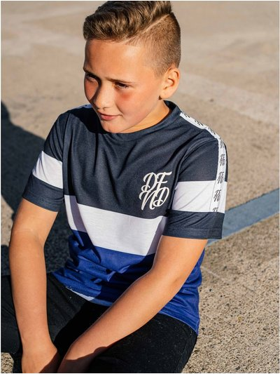 DFND stripe t-shirt (5 - 13 yrs)