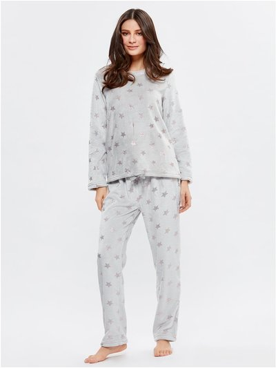 Star fleece pyjama set