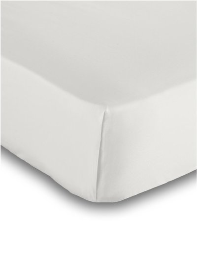 Pure cotton cream flat sheet