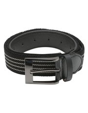 Black stripe stretch belt