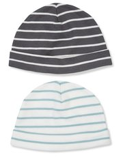 Striped hat two pack (newborn-18mths)