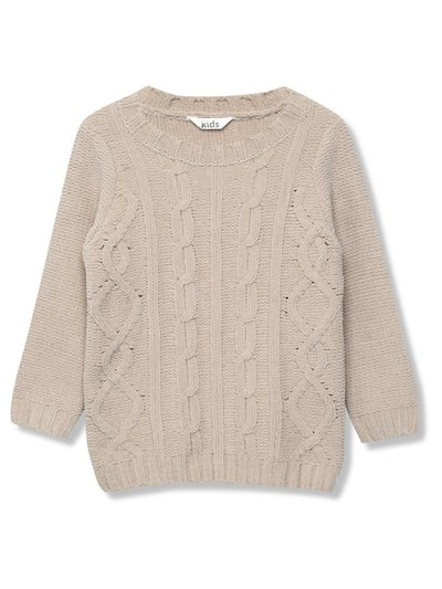 Chenille cable knit jumper (9 mths - 5 yrs)