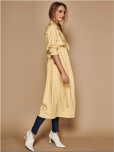Sonder Studio yellow duster coat