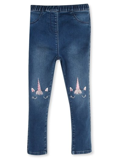 Unicorn embroidered jeans (9mths-5yrs)