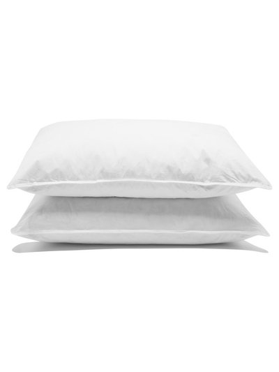 Luxury goose feather and down pillows