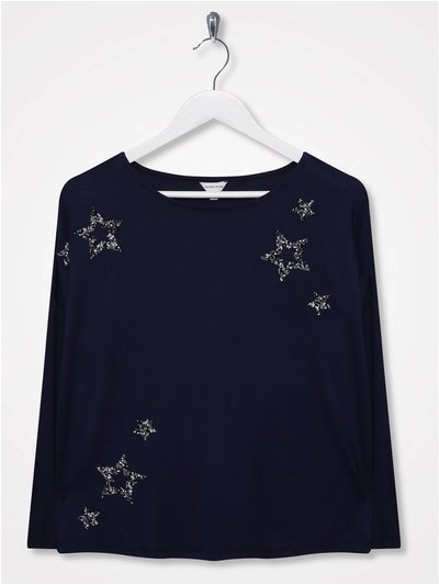 Sonder Studio star embellished top