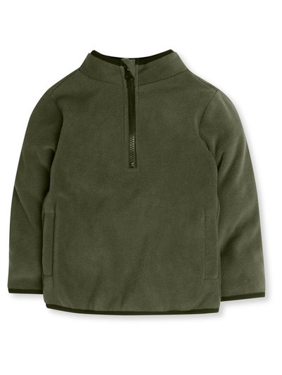 Zip neck fleece (9mths-5yrs)