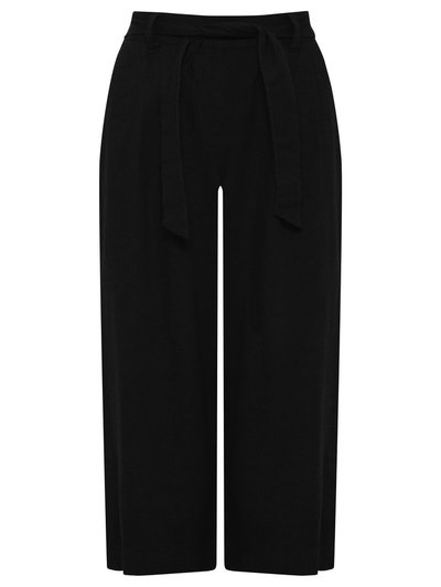 Spirit cropped linen trousers
