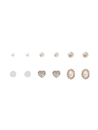 Gold Stud Earring Pack