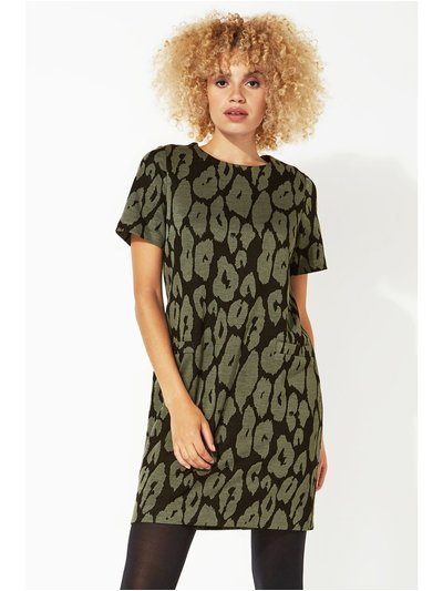 Roman Originals animal leopard print shift dress