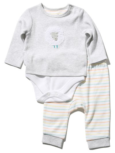 Sheep bodysuit and joggers set (Newborn - 9 mths)