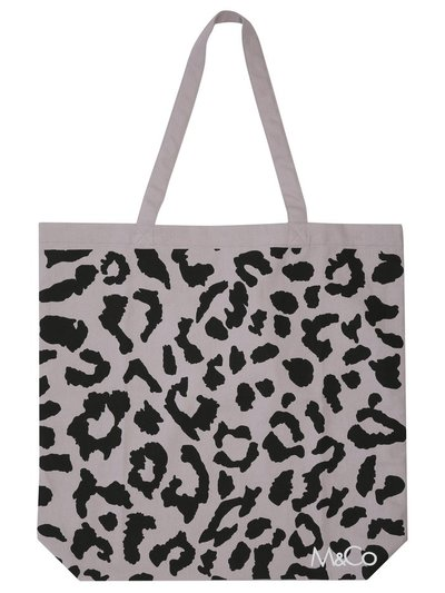 Leopard print bag for life
