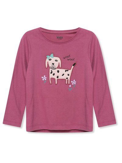 Dog graphic top (9mths-5yrs)