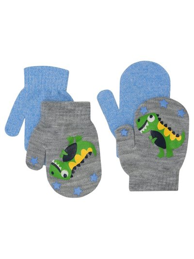 Dinosaur mittens two pack