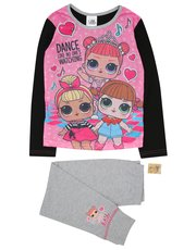 Lol Surprise pyjamas with stickers (4 - 10 yrs)