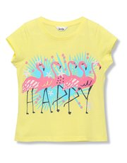Flamingo slogan t-shirt (3 - 12 yrs)