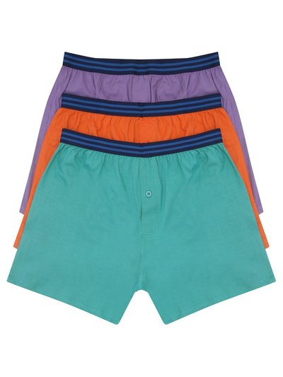 Plain boxers three pack