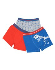 Dinosaur boxer trunks three pack