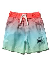 Ombre surf print swim shorts