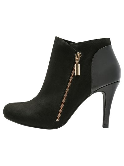 Amigo patent side zip ankle boot