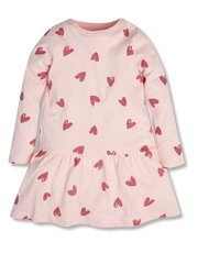 Love heart print dress (9mths-5yrs)