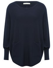LV Clothing batwing jumper