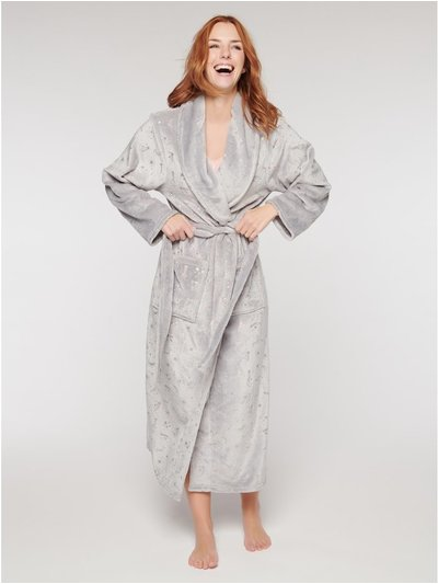 Shooting stars dressing gown