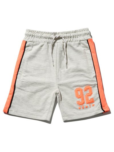 Neon slogan shorts (3-12yrs)