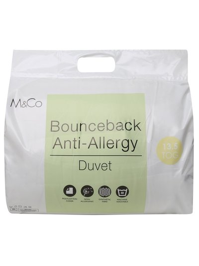 Bounceback anti-allergy 13.5 tog duvet