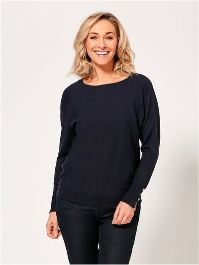 Spirit stripe back jumper