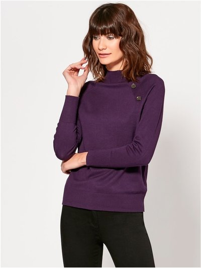 Button trim jumper