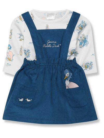 Peter Rabbit dress and bodysuit set (Newborn - 24 mths)