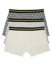 Weather stretch cotton trunks three pack
