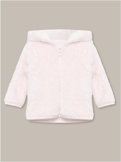 Sherpa fleece hooded jacket (Newborn-18mths)