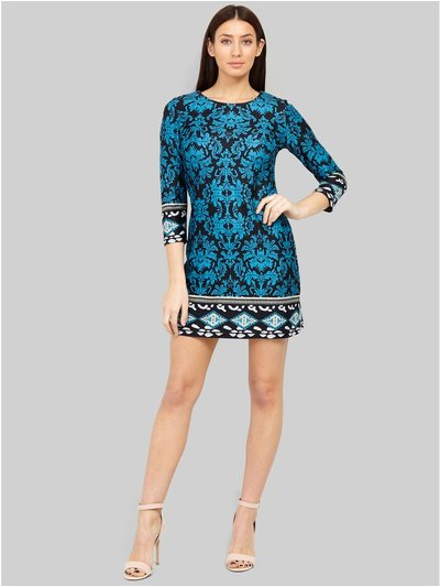 Izabel wallpaper print shift dress