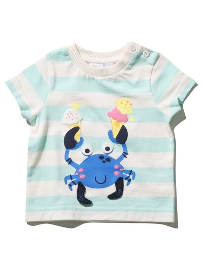 Striped crab t-shirt (0mths-4yrs)