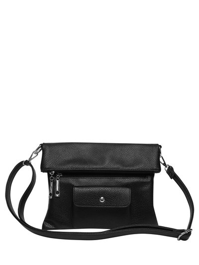 Pocket front crossbody bag