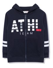 Minoti athletic zip up hoody