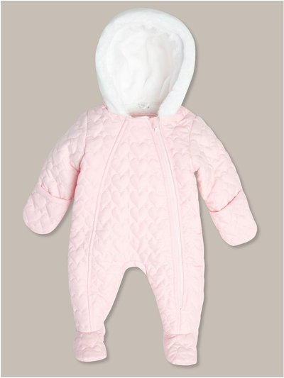 Quilted snowsuit (newborn-24mths)