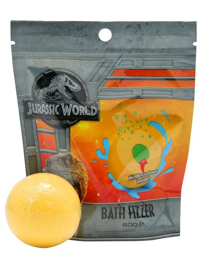 Jurassic World bath fizzer