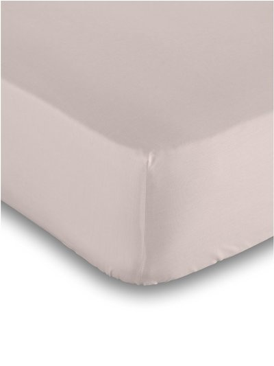 Cotton rich pink deep fitted sheet