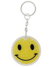 Smiley face keyring